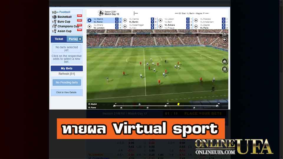 Virtual sport ufabet
