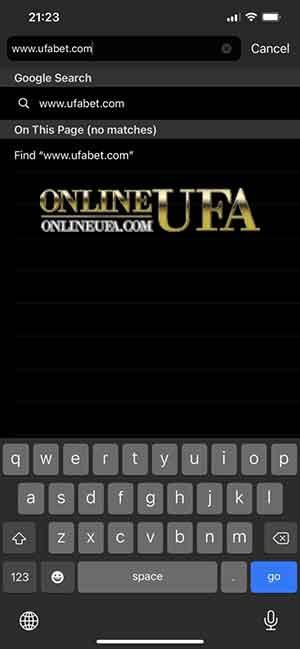 APP UFA บน IOS