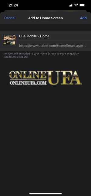ufabet app IOS